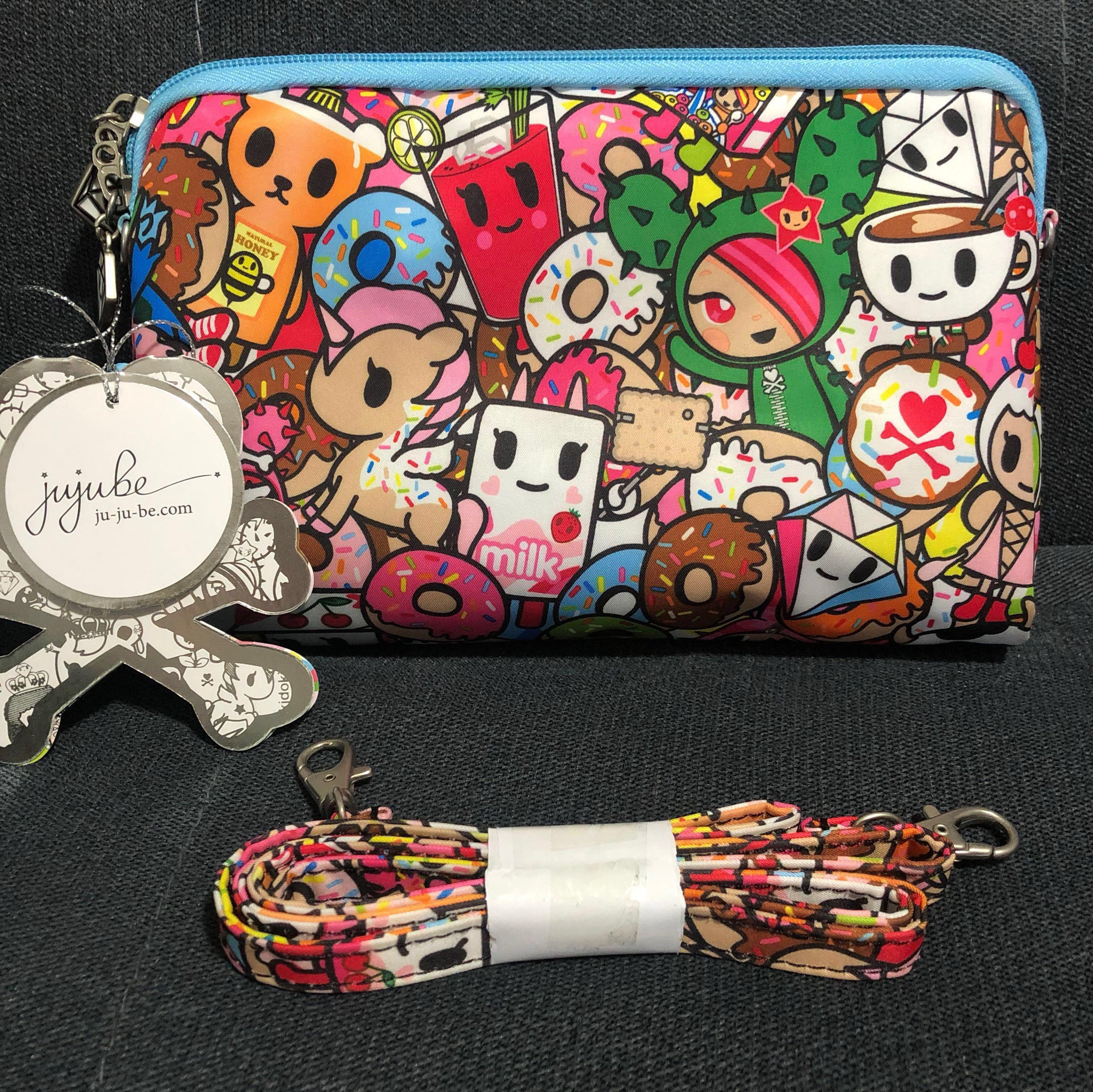 BNWT Tokidoki x Jujube Tokipops Be Set Large Bag Clutch