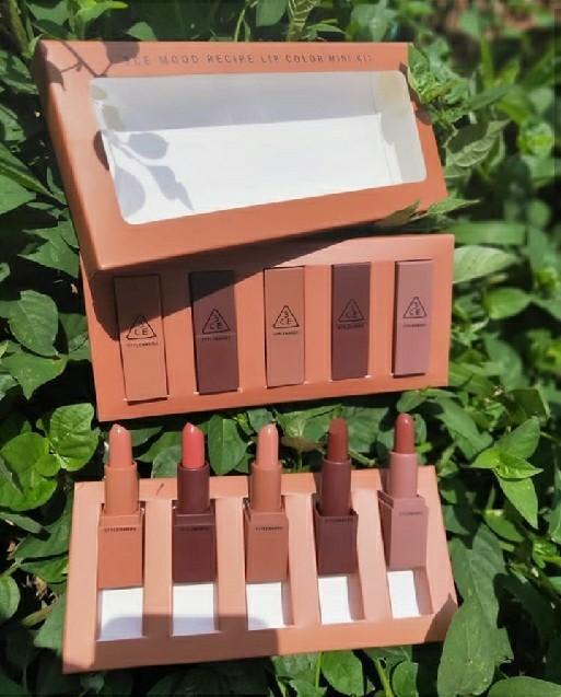 3ce Mood Recipe Lip Colour Mini Kit (5pcs)