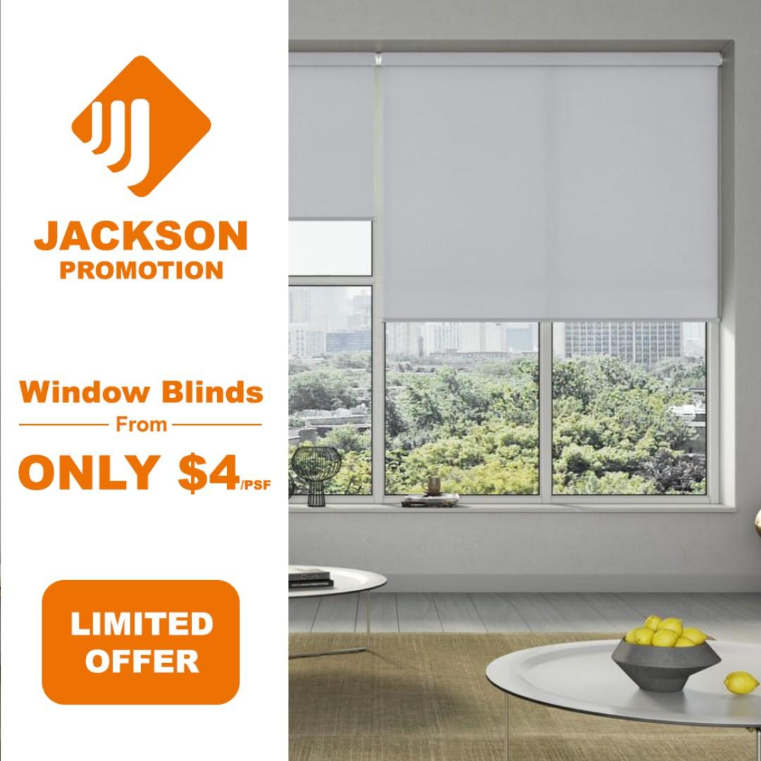 $4/psf BLINDS PROMO SALES! Residential & Office Installation