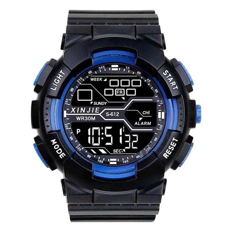 淘寶代購代付退貨手錶男學生潮流機械兒童男孩男童高初中生青少年多功能運動電子錶 手表