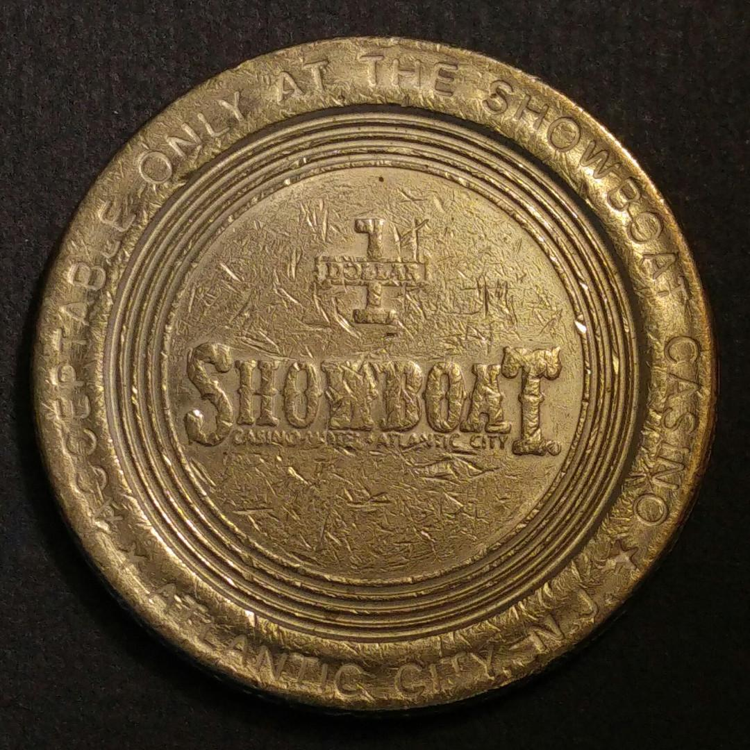 [賭場代幣] 美國賭場$1美金代幣 硬幣一枚
