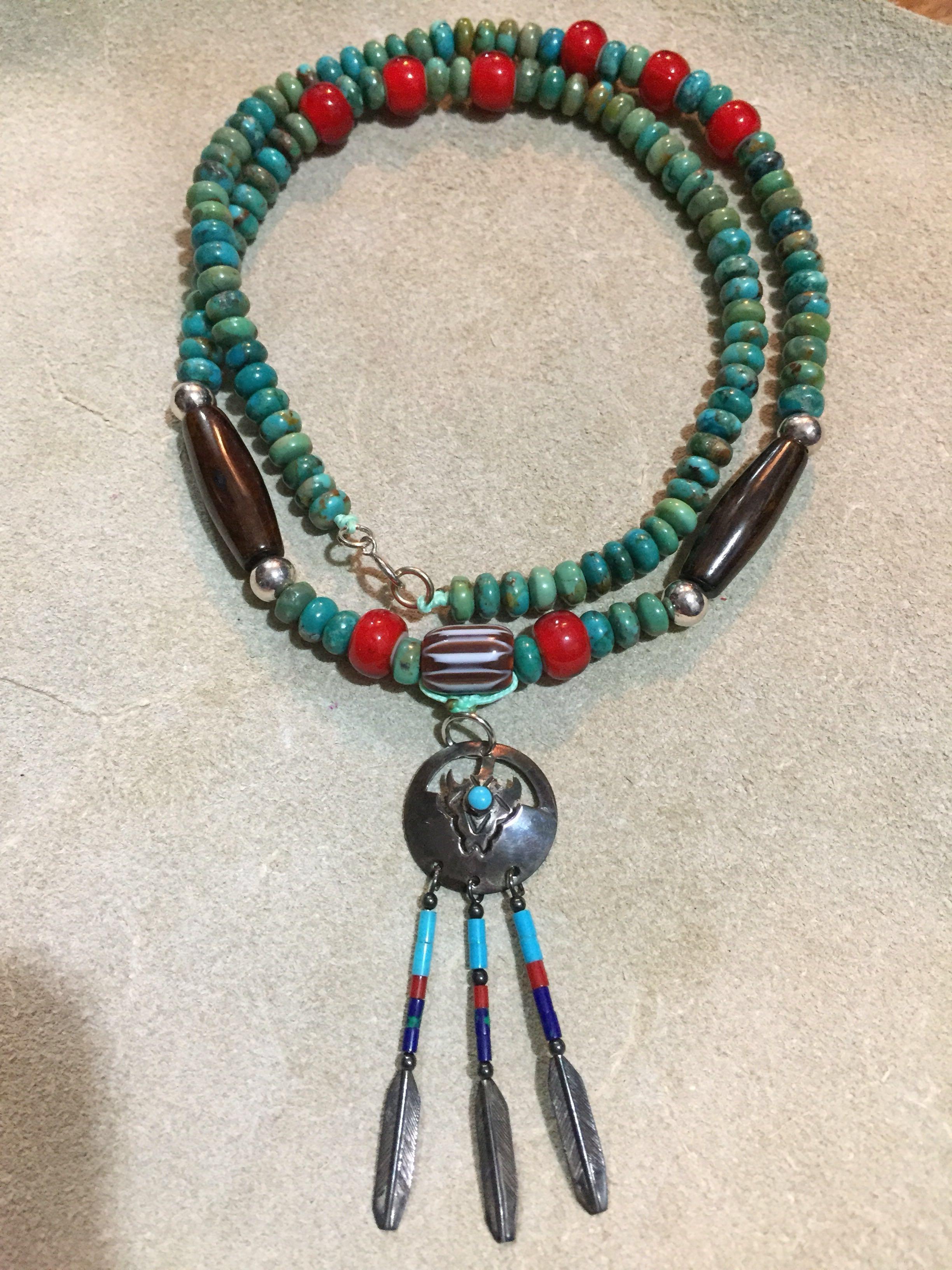 印第安 綠松石項鏈