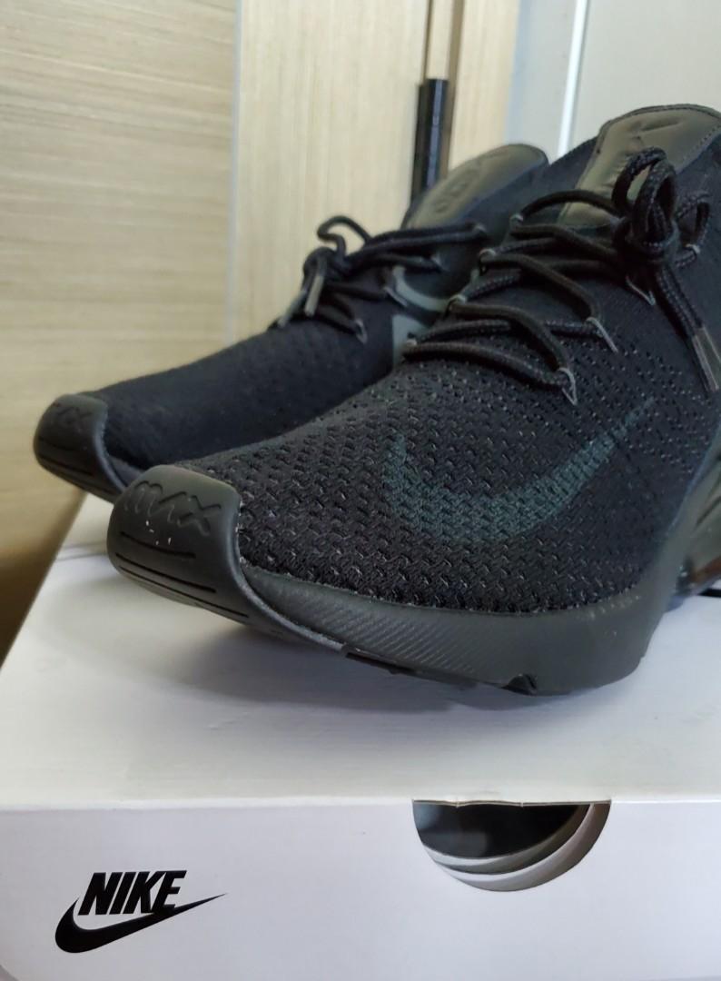 low priced 2c8e8 6e5a6 極罕有 Nike Air Max 270,Flyknit,Triple Black,全新