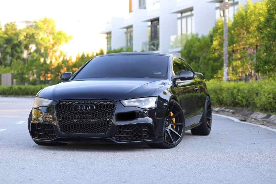 Audi S5 V8! For Rental / kereta sewa at legendary Car Rental