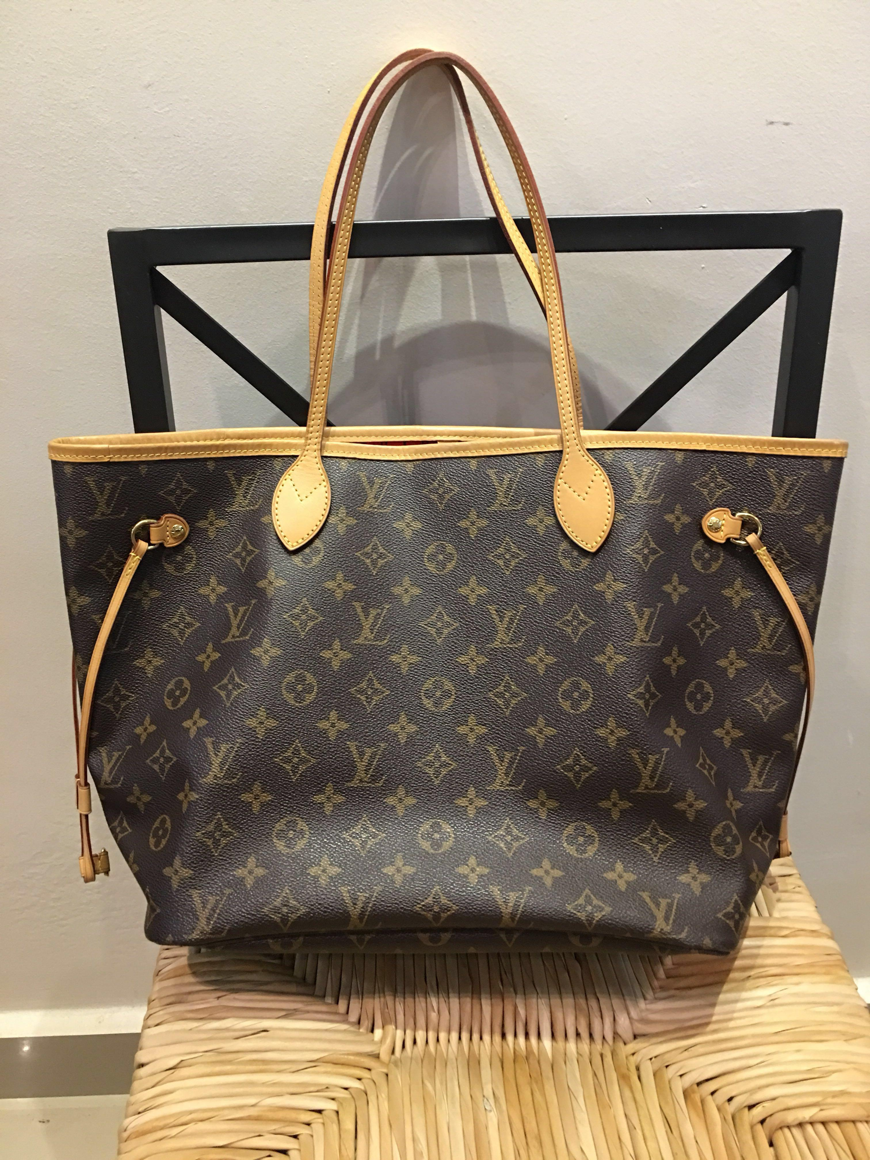 Authentic LV Neverful MM