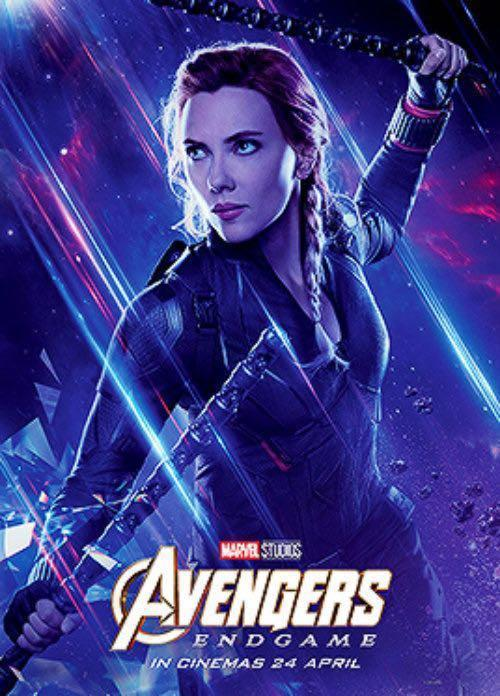 Avengers Poster End Game Black Widow 黑寡婦海報