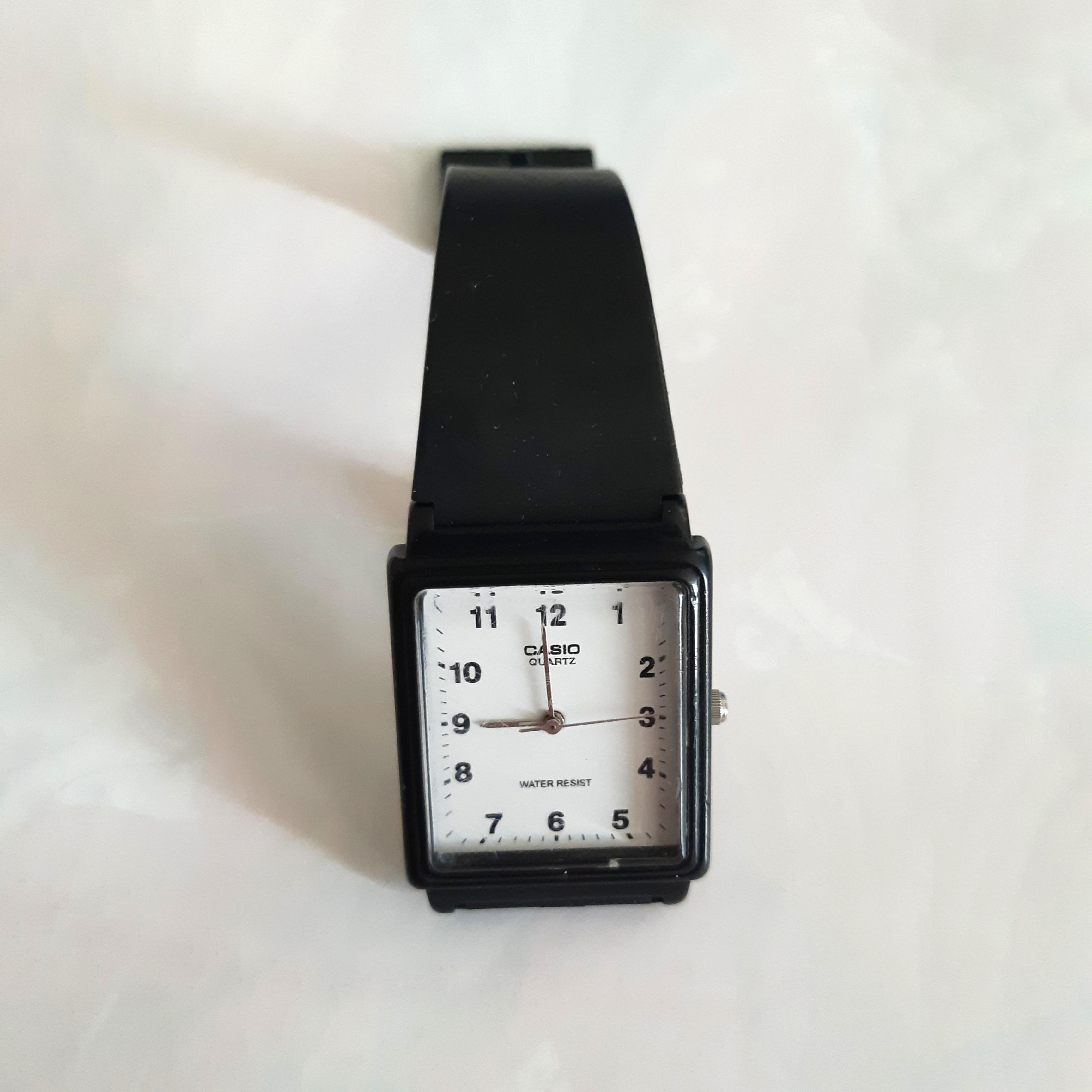 #BAPAU jam tangan casio