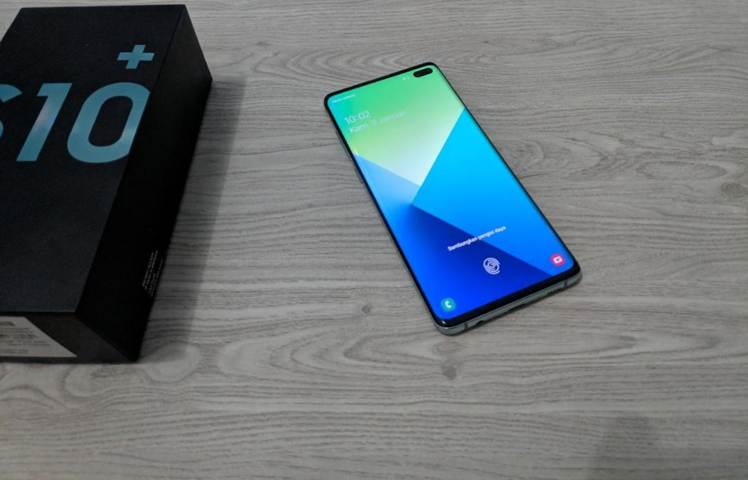 #BAPAU Samsung S10+ 128GB Green