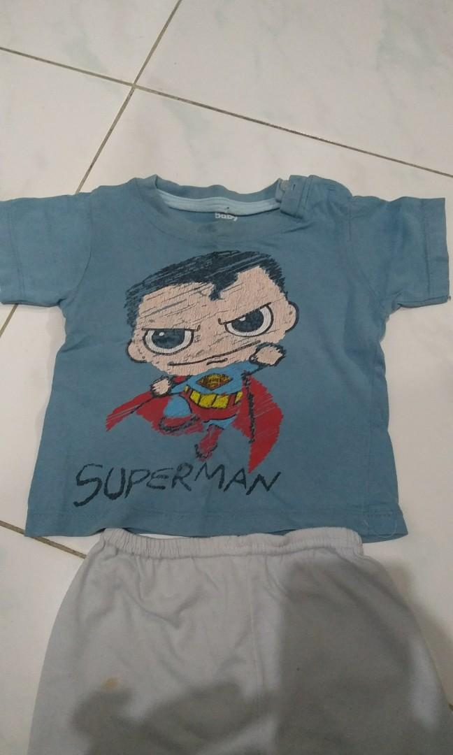 #BAPAU setelan baju bayi celana pop baby victory