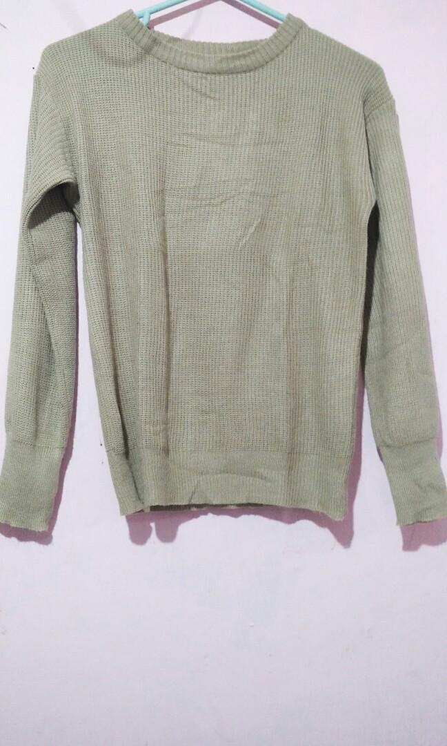 #BAPAU Sweater Rajut