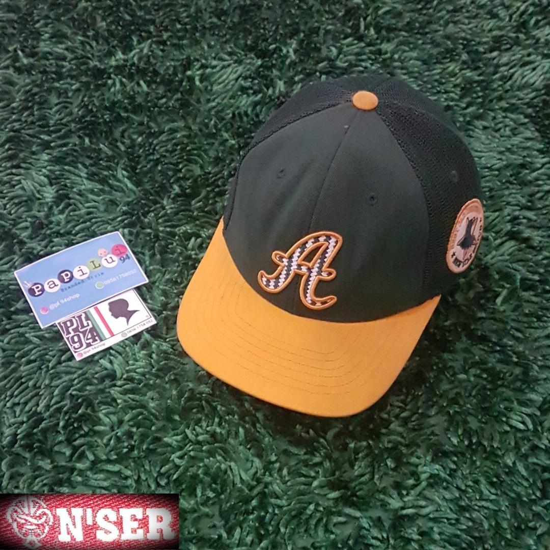 """Baseball Cap Trucker """"N'SER"""" x A"""