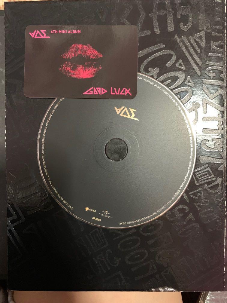 Beast Good Luck Album W PC