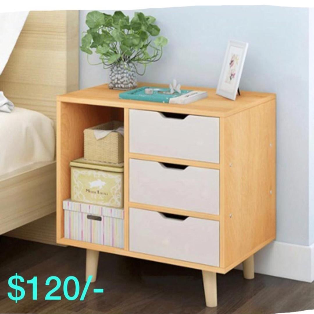 Bedside Table Bedside Drawer