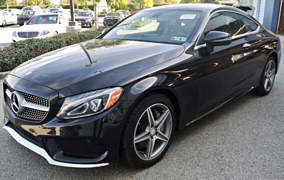 BENZ C300 AMG 4MATIC COUPE🔥
