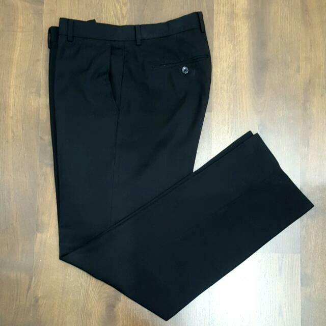 🚉 [RP$250] Authentic Calvin Klein Man Working Black Pant 31