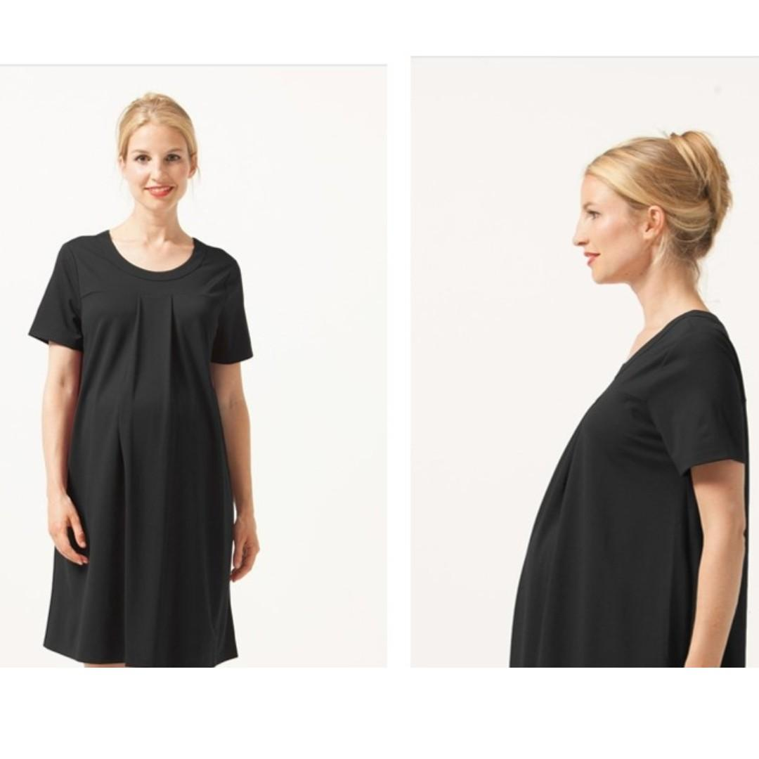 Bove by Spring Maternity Florence Dress Black (M)