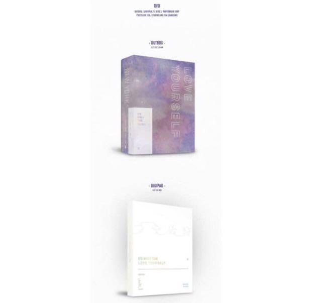 BTS Love Yourself World Tour In New York & Europe DVD [Sharing Goods ‼️]