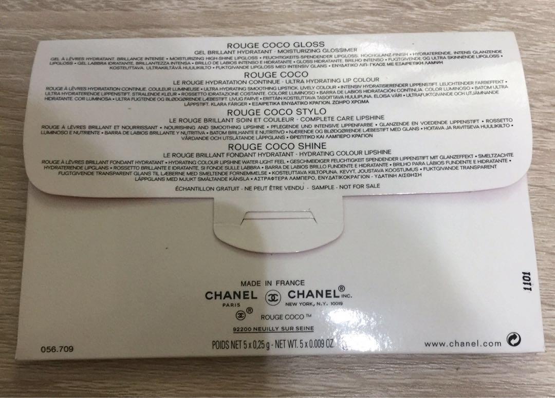 Chanel Lipstick Sample