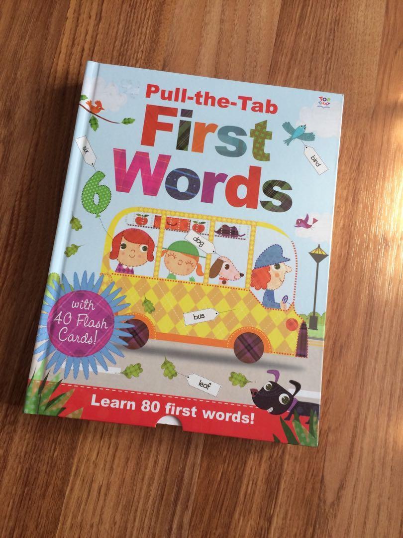 Children book First Word
