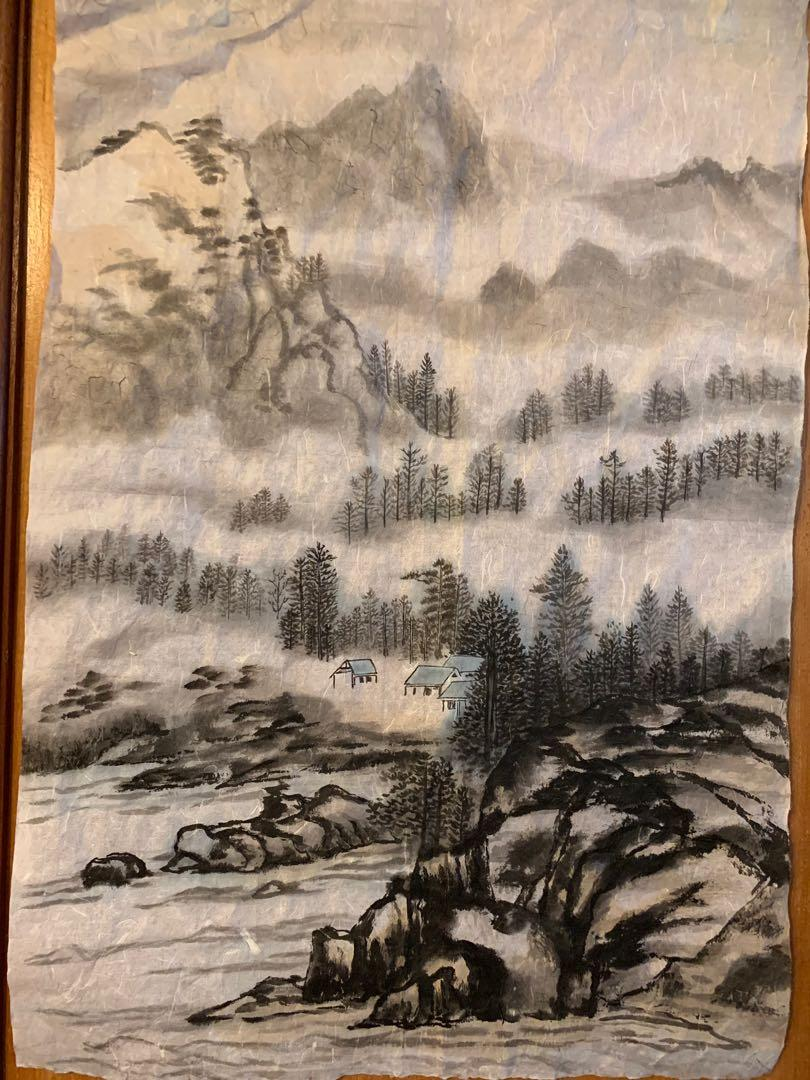 Chinese Water colour painting