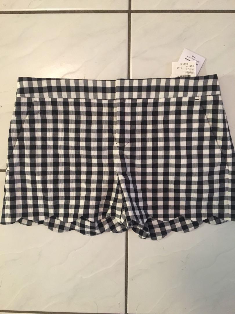 Club Monaco gingham shorts