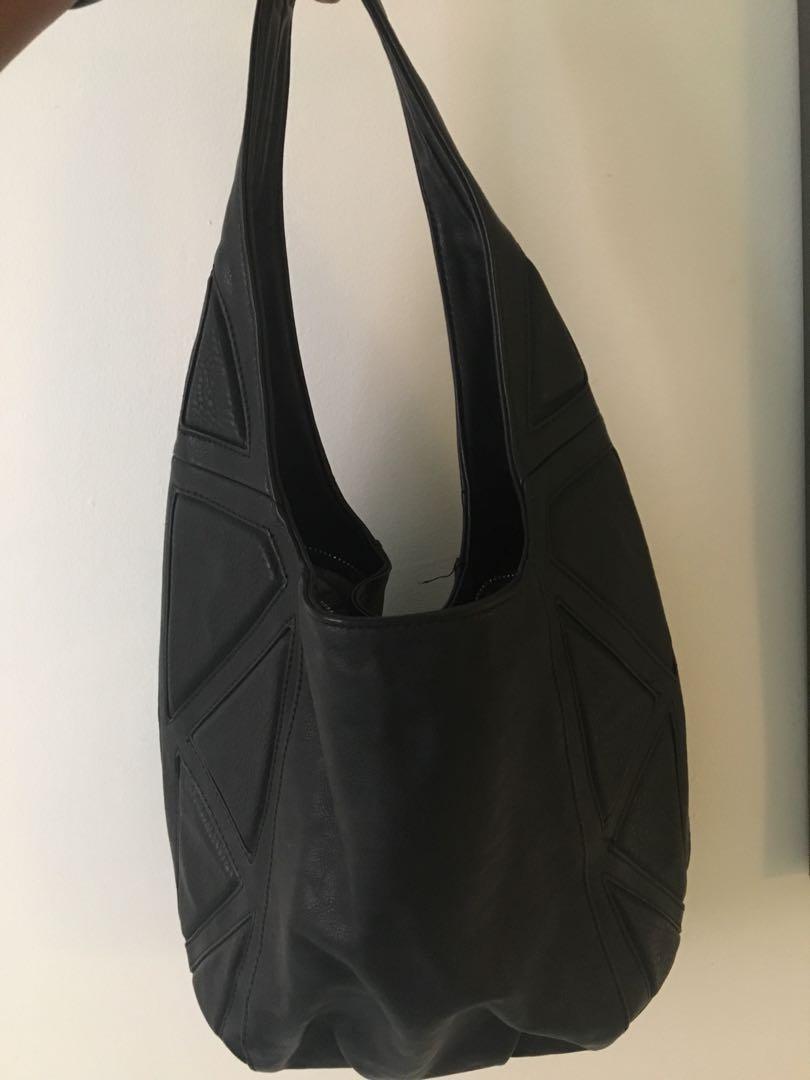 Co Lab Faux Leather Bag