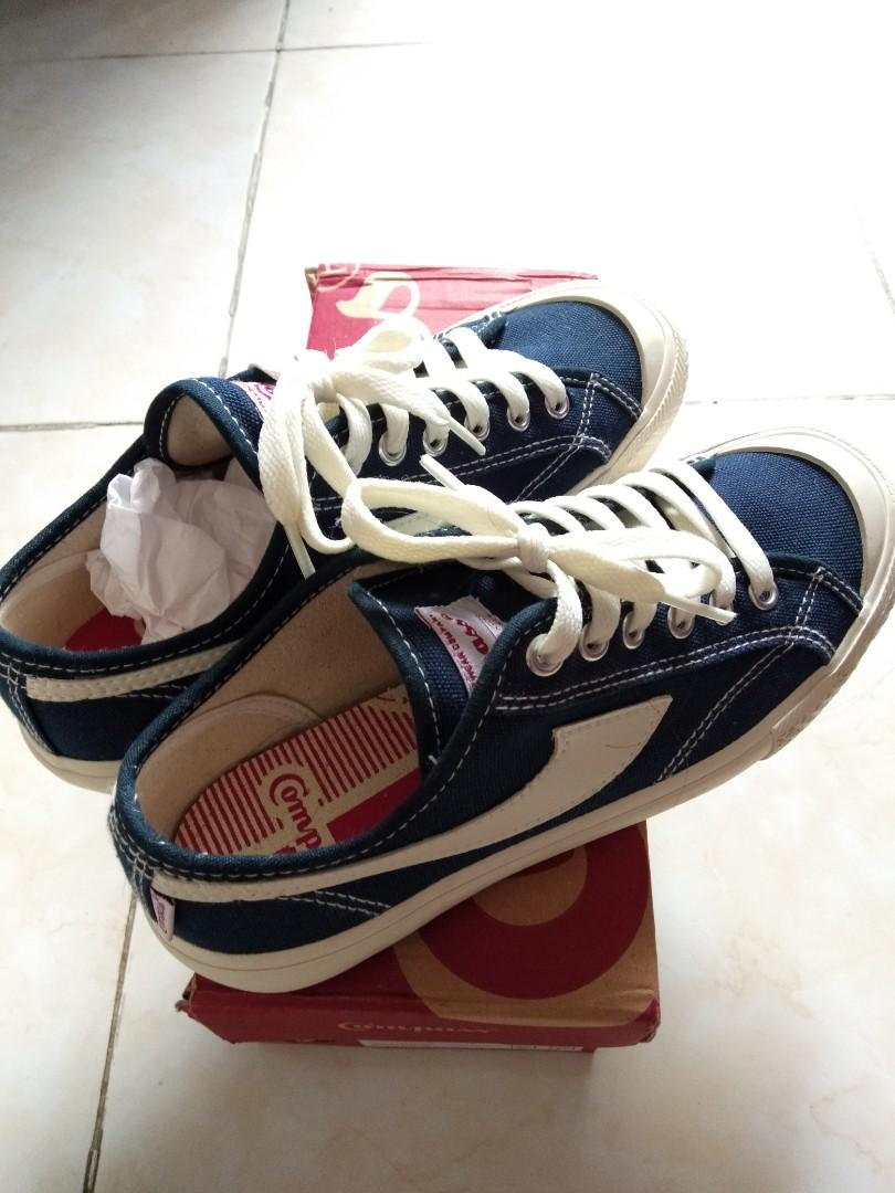 COMPASS GEZELLE LOW NAVY WHITE