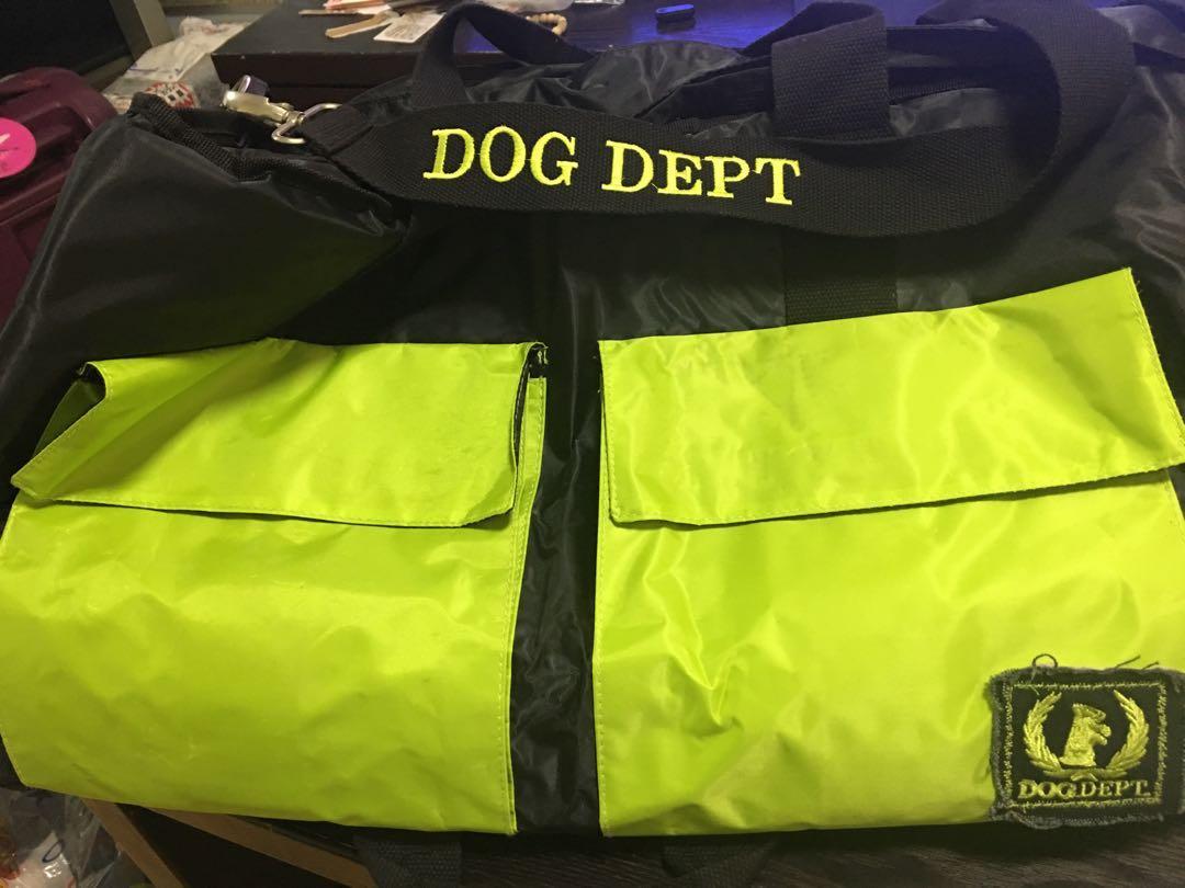 日本名牌大狗袋 Dog dept dog bag used once
