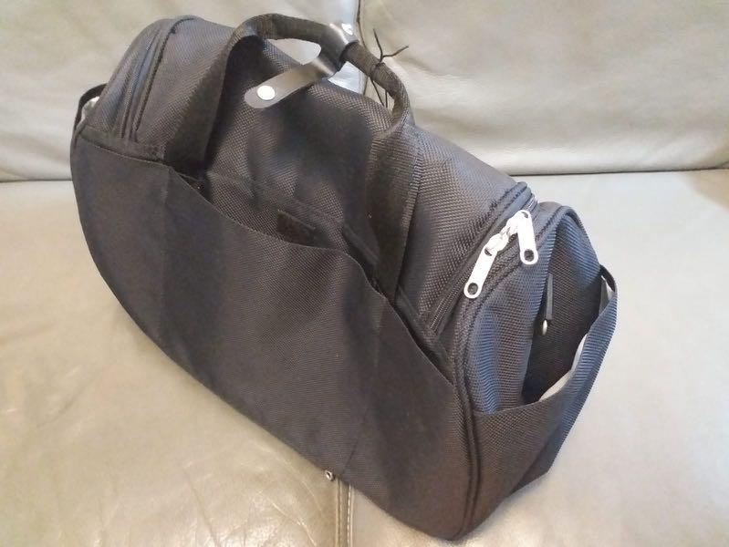 ELLE黑色旅行袋