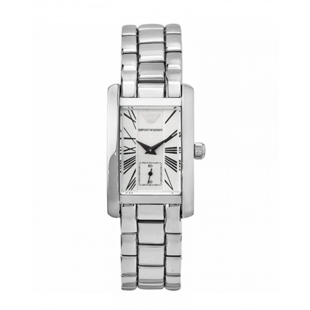 edf7c8e7c8 Emporio Armani AR0146 Ladies Classic Stainless Steel Designer Watch