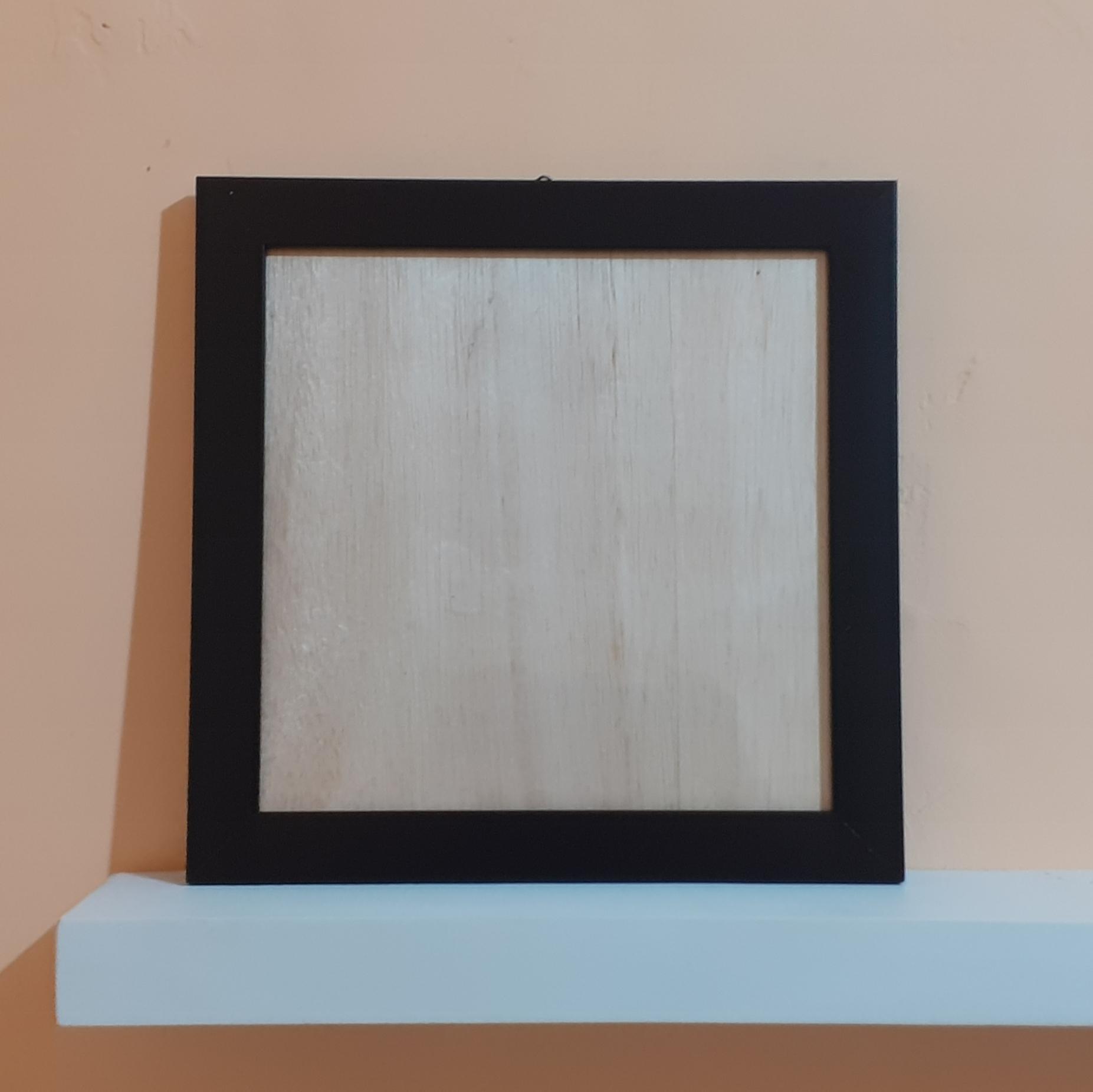 Fiber Frame (25X25 cm)