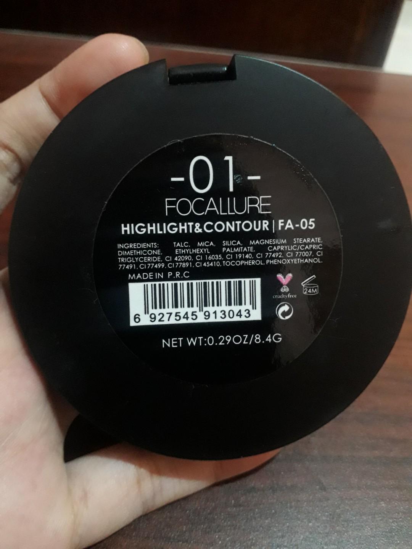 Focallure Face Highlight & Contour 01