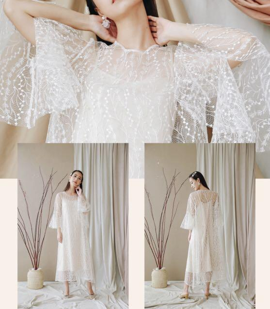 For rent white lace dresses