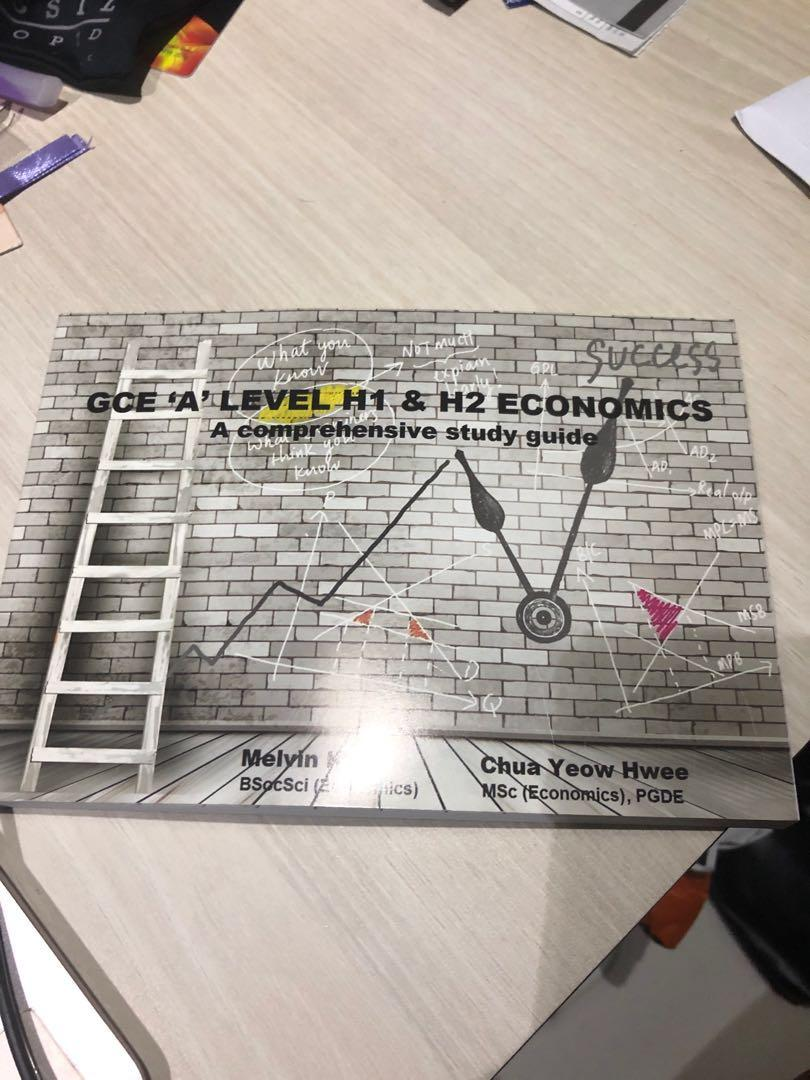 GCE 'A' level H1 & H2 Economics Comprehensive Study Guide