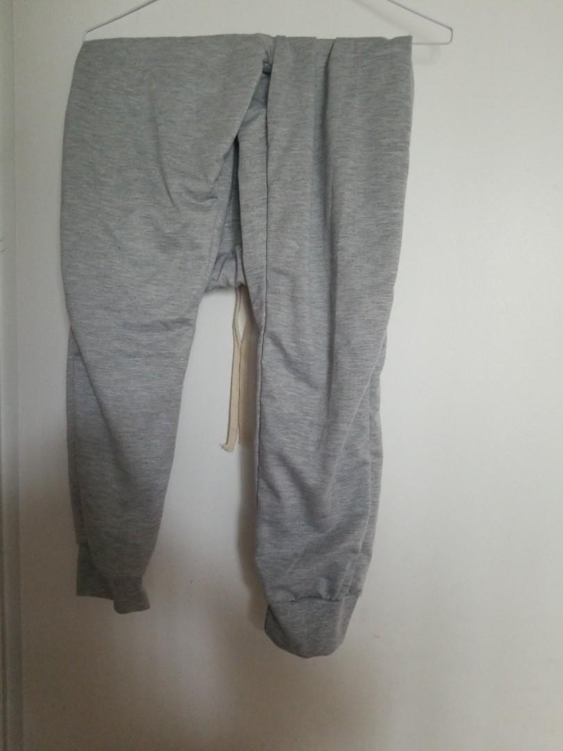 Grey Joggers Sweatpants