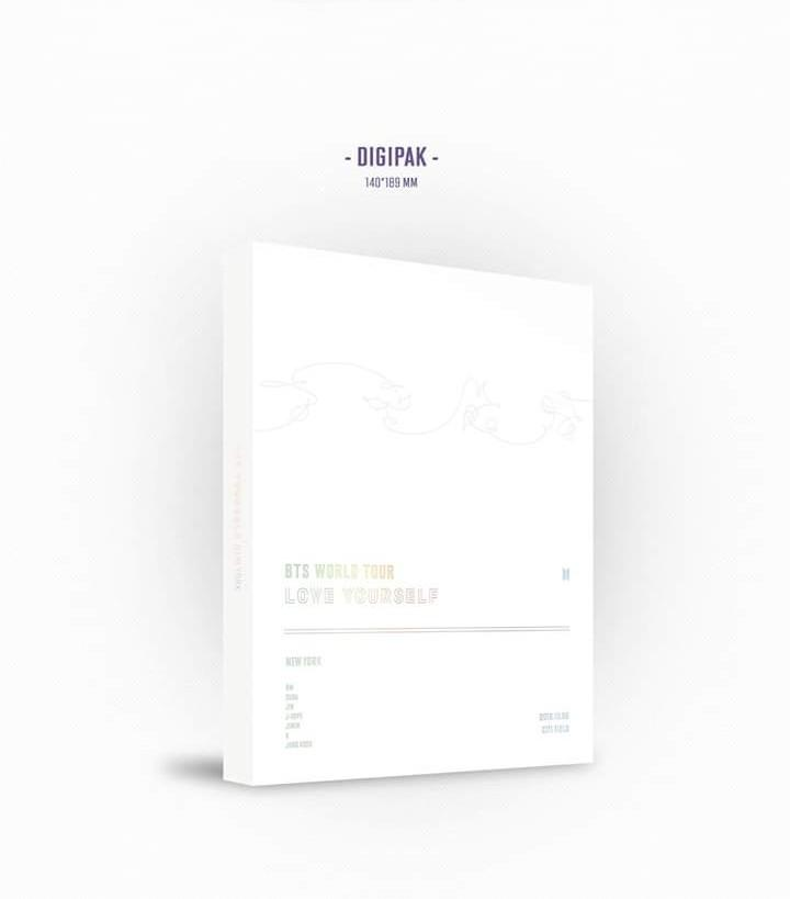(GROUP BATCH) BTS LOVE YOURSELF IN EUROPE & NEW YORK DVD