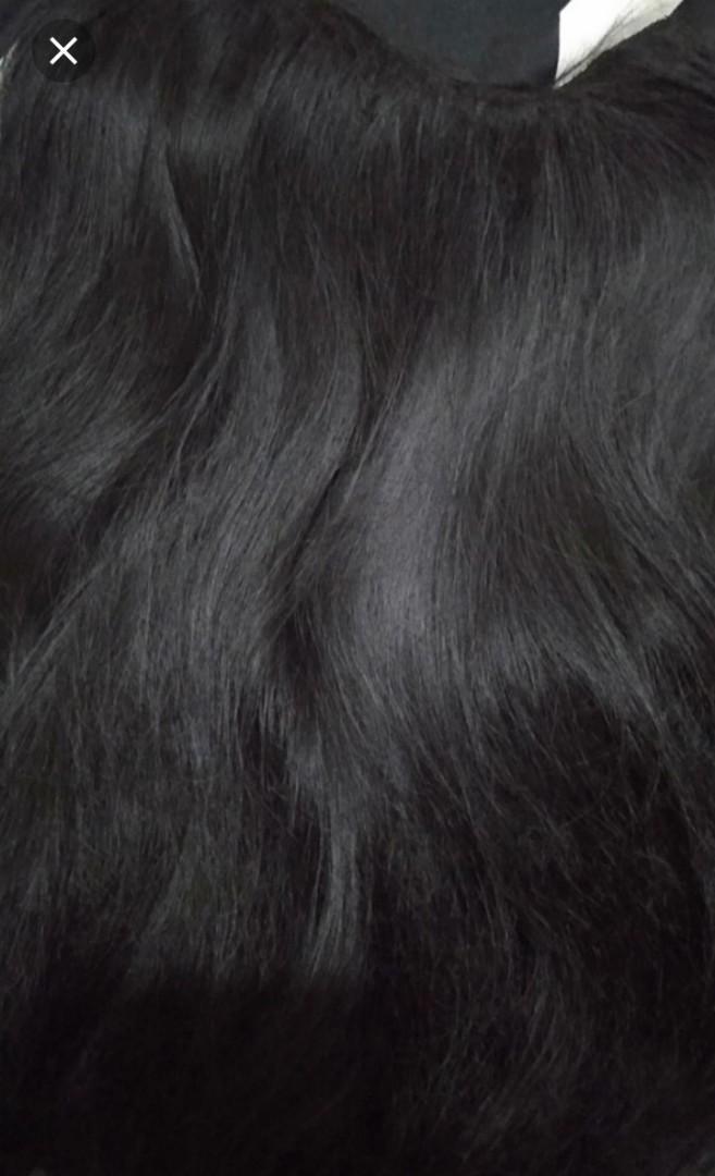 Hairclip lurus blow hitam