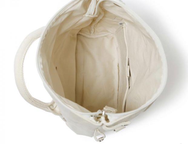 Head Porter BANFF 2Way Tote Bag (S) OFF WHITE