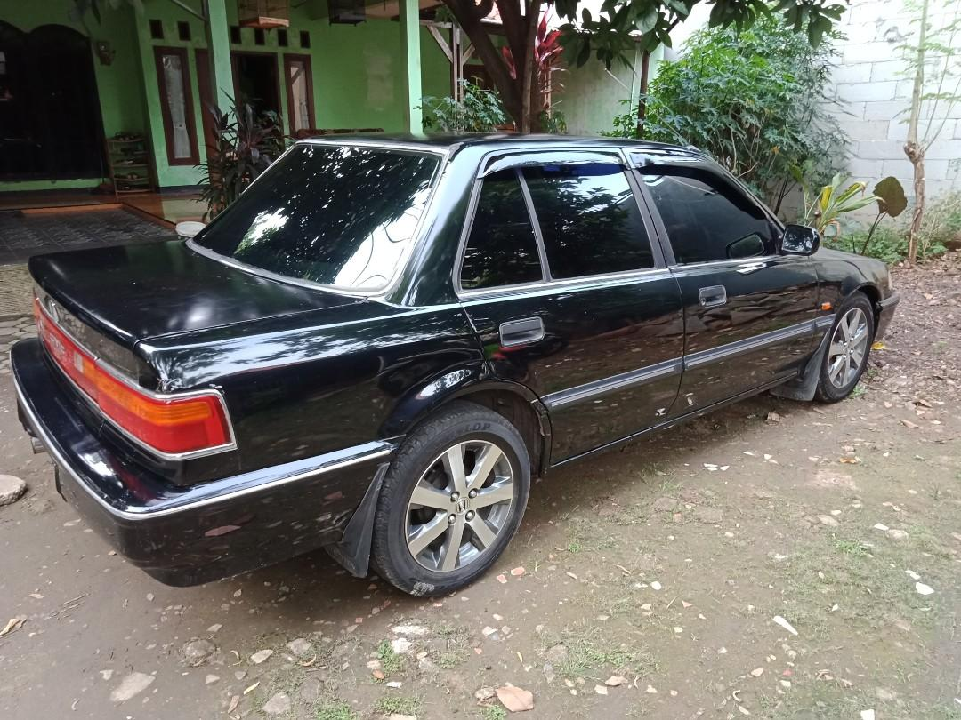 Honda grand civic th 1991 matic hitam pajak panjang