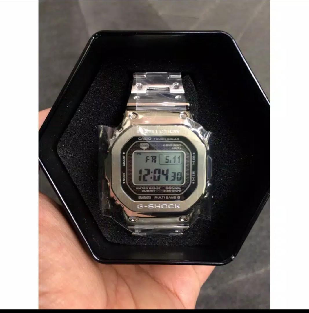 jam casio g shock GMW 5000 FULL METAL anniversary g shock 35 th,special edition