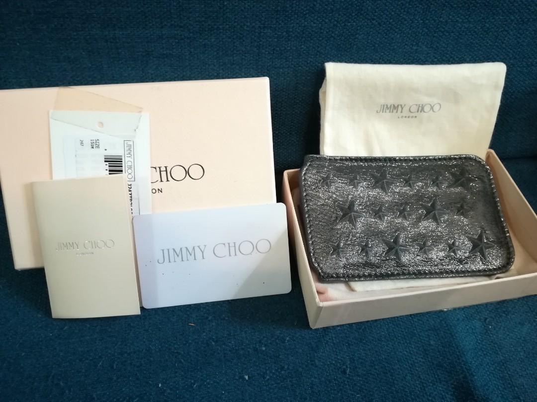 Jimmy Choo Women's Black 'nello' Card Holder