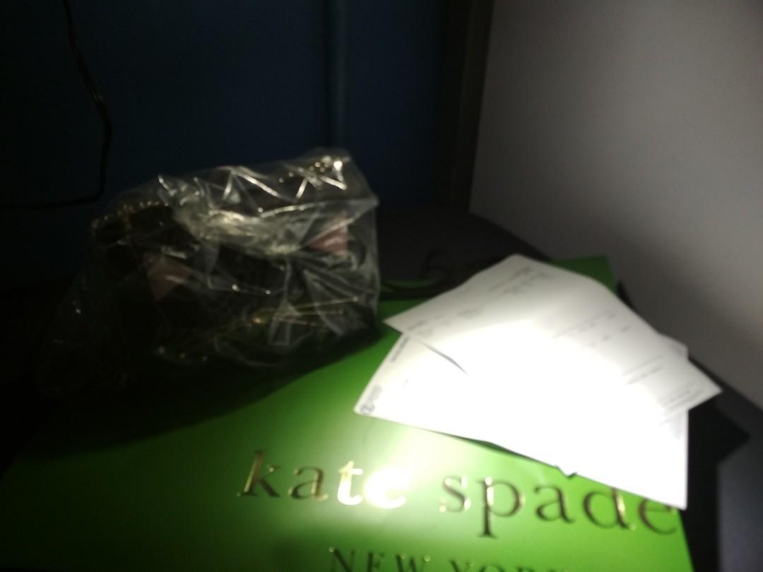 Kate Spade cat sling bag #MRTPunggol #MRTSengkang #MRTHougang #MRTSerangoon #MRTBedok #MRTTampines