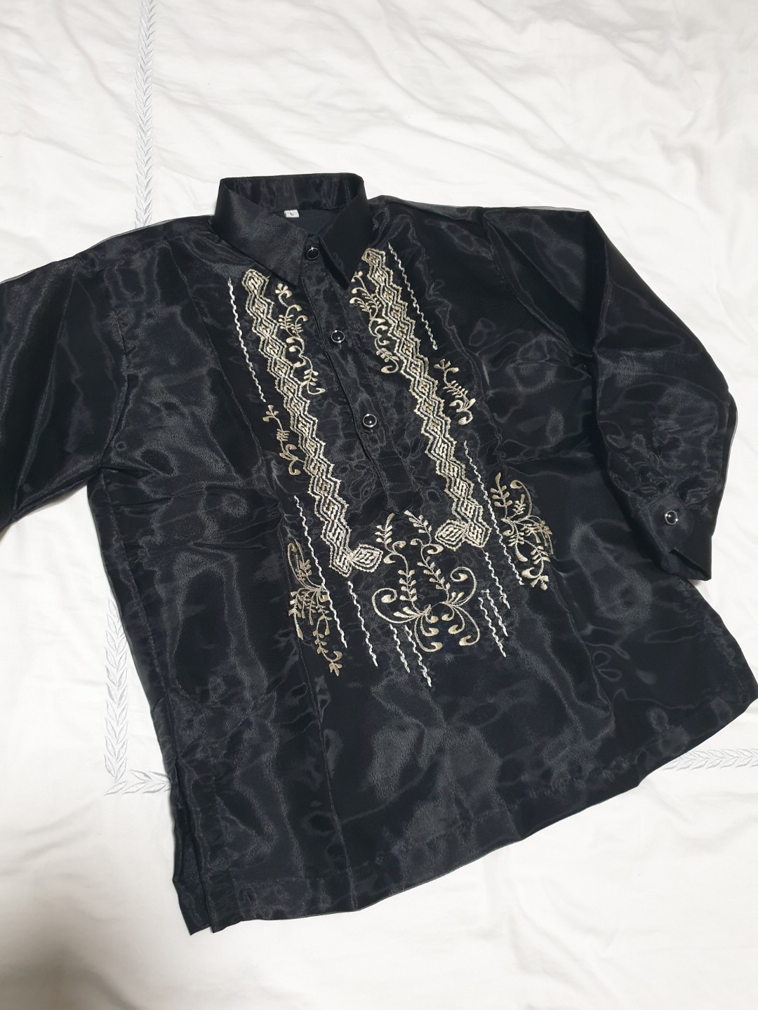 BARONG TAGALOG FOR BOYS  SIZE 6  MAY FIT TO 5-6 YEARS OLD BOYS