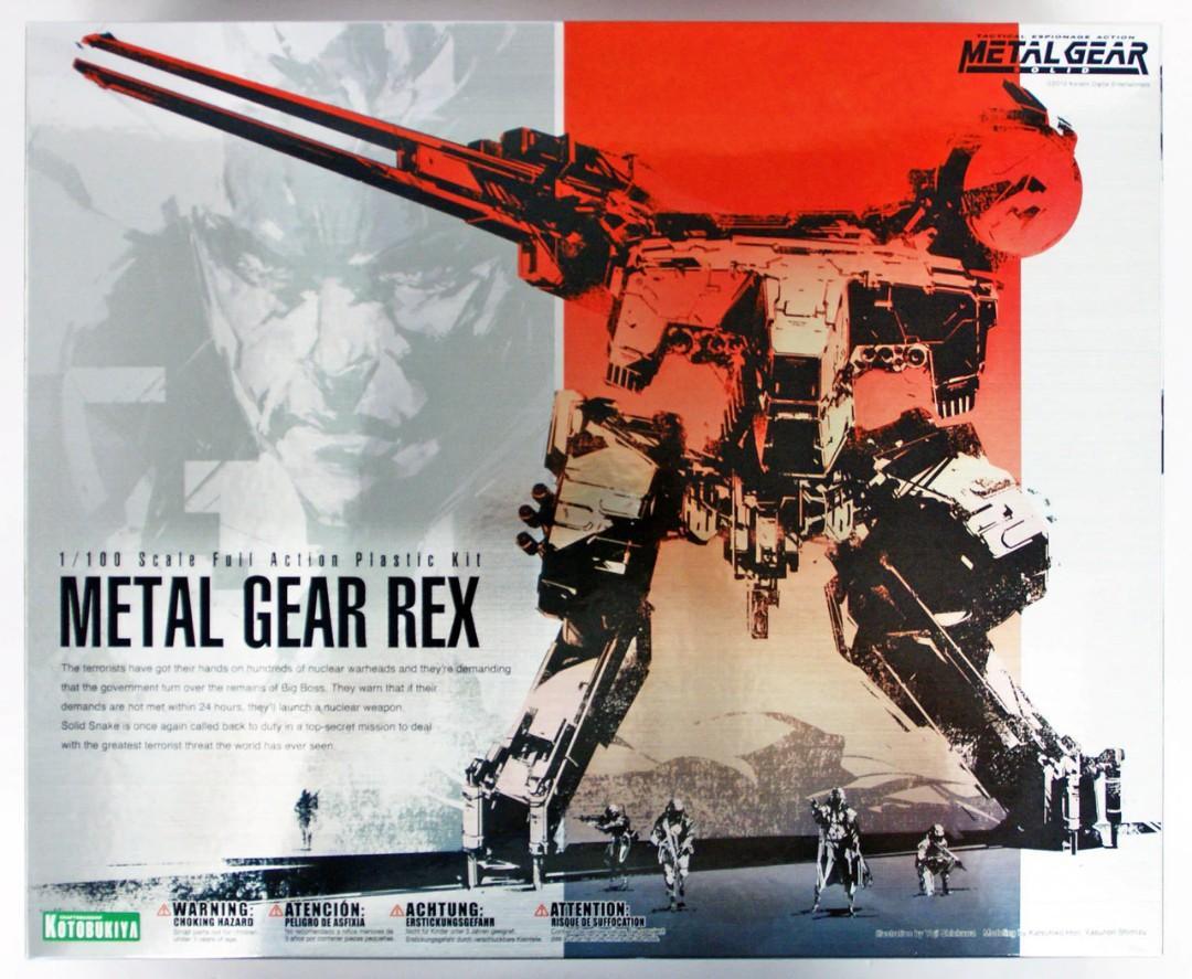 Kotobukiya Metal Gear Rex