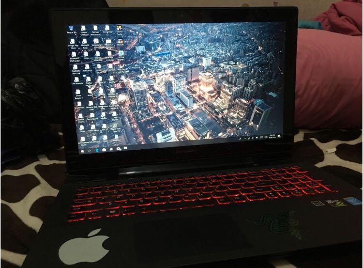 Laptop gaming lenovo Y50-70