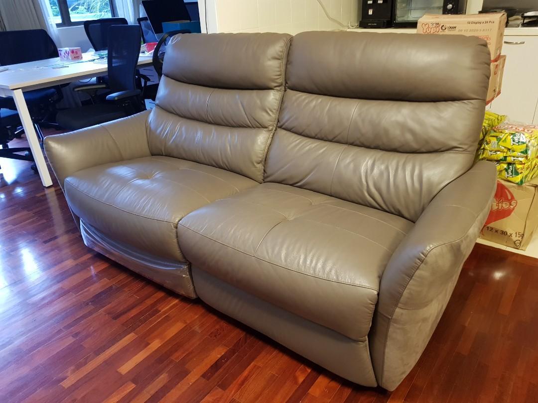 Marvelous Leather Sofa Furniture Sofas On Carousell Frankydiablos Diy Chair Ideas Frankydiabloscom