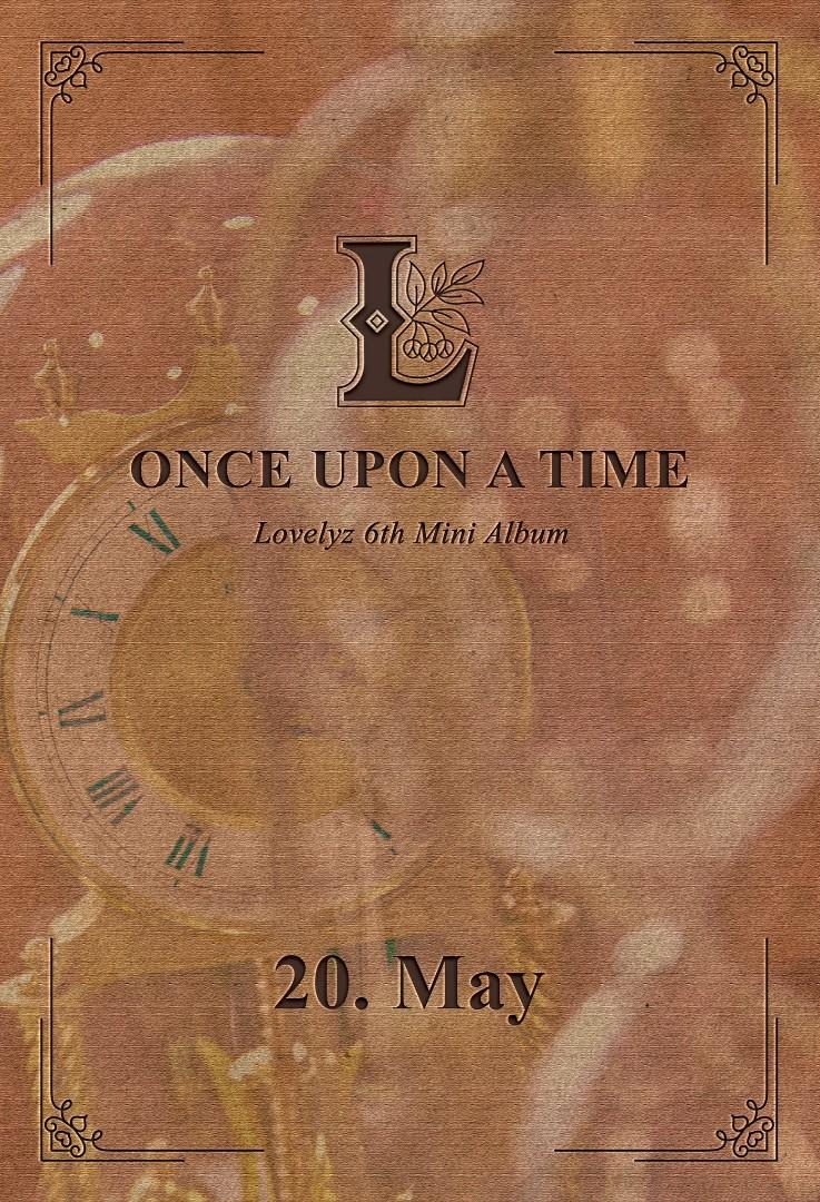Lovelyz ONCE UPON A TIME (limited edition + normal version)