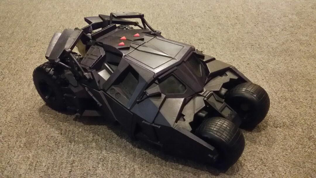 Mattel Batman Begins The Tumbler Batmobile (Purple)