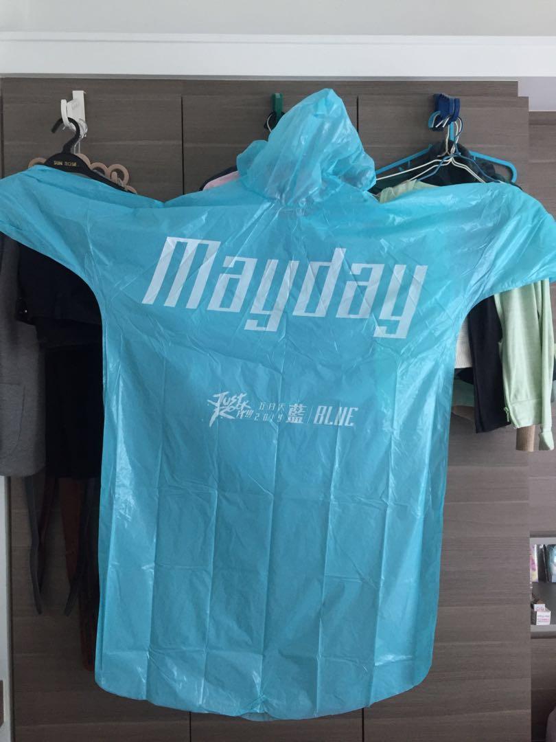 五月天雨褸Mayday raincoat