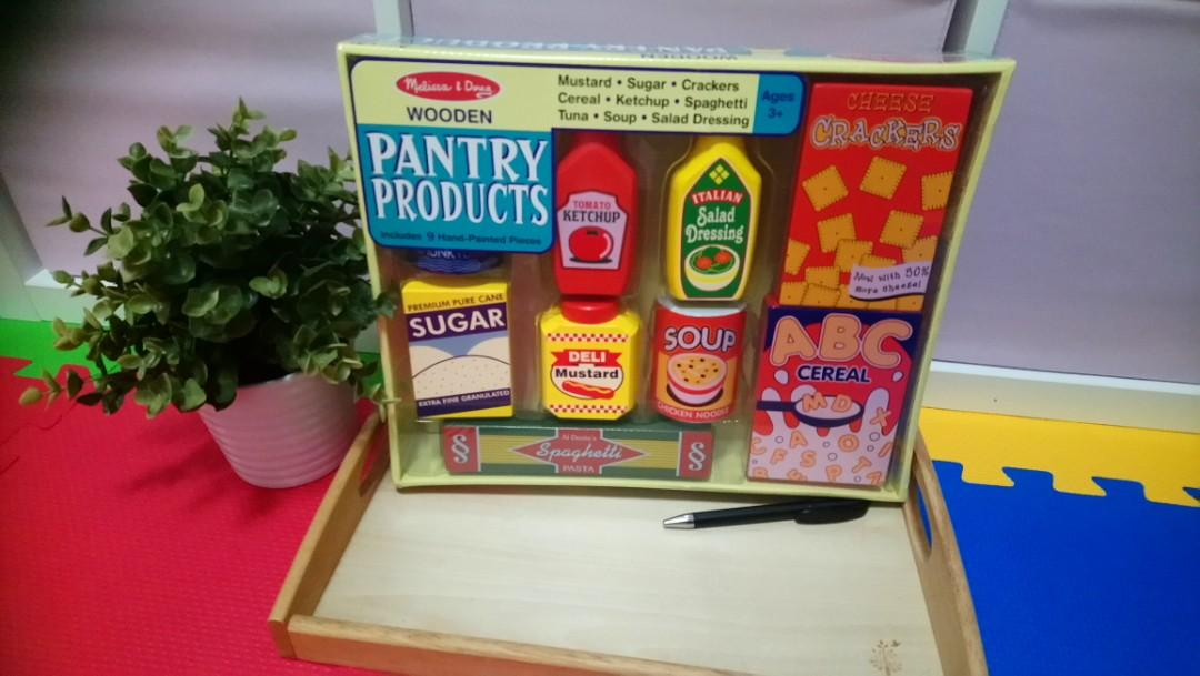 Melissa Doug Food Groups Toys Games 21 Hand Painted